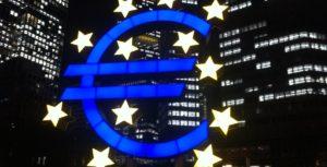 União Europeia. Banco Central Europeu. Frankfurt