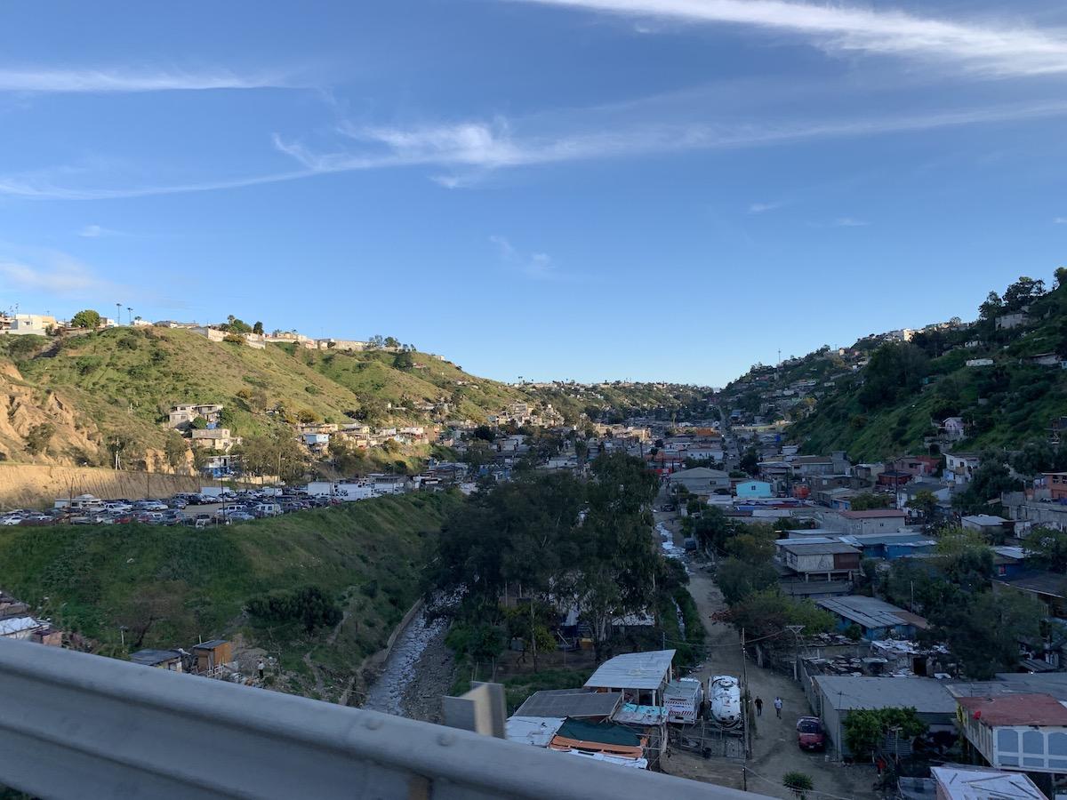 Tijuana, México. Fronteira EUA