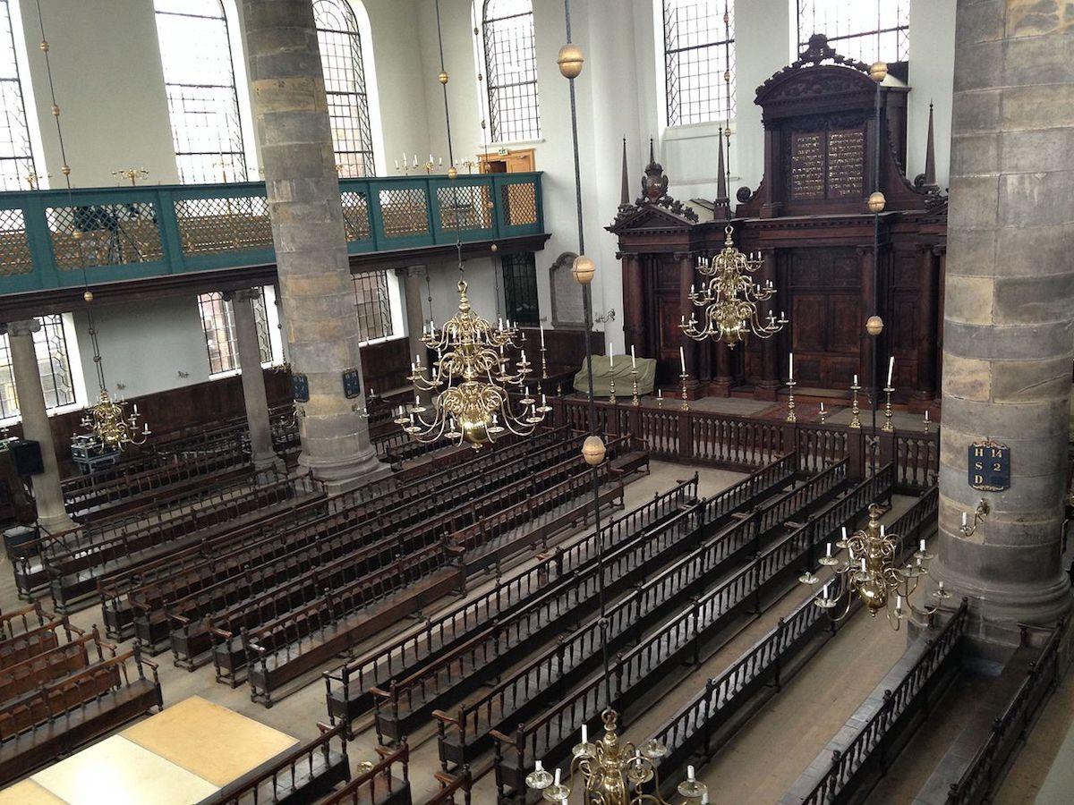 Judaísmo. Sinagoga Portuguesa de Amesterdão