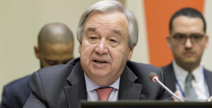Secretary-General António Guterres launches the United Nations Strategy and Plan of Action on Hate Speech. UN Photo_Manuel Elias