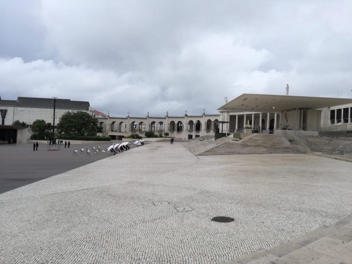 Fátima, 13 Maio 2020. Peregrinação pandemia