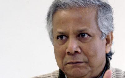 """Muhammad Yunus: """"Começar do zero"""" e aproveitar os """"horizontes ilimitados"""" que a pandemia abriu"""