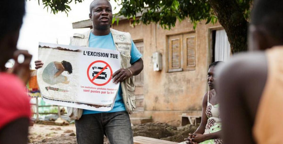 mutilacao genital feminina africa Foto © UNICEF Côte d'Ivoire_Olivier Asselin_2013