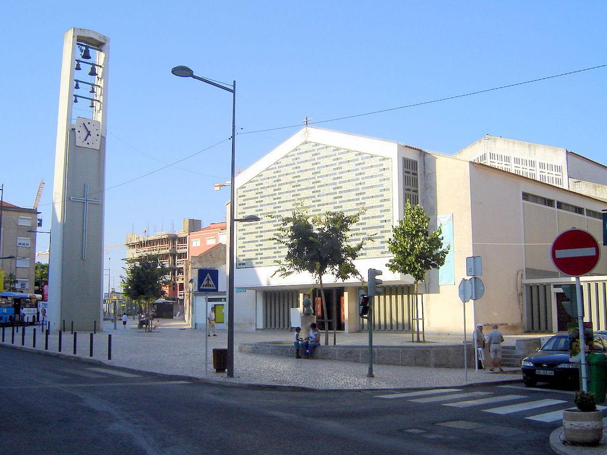 Igreja de Santo António de Moscavide. João de Almeida