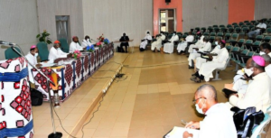Burkina Faso Bishops at their recent June plenary in Ouagadougou Foto Vatican news sem creditos
