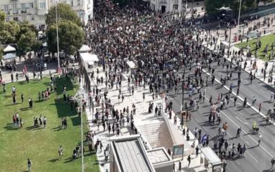 """""""Não há paz sem justiça"""" – milhares contra o racismo em Portugal, na Europa e no mundo"""
