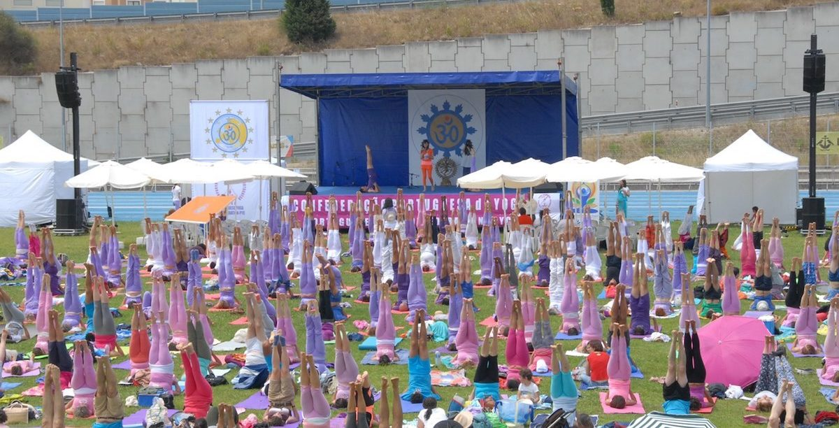 Yoga, Dia Internacional do Yoga, 2017.