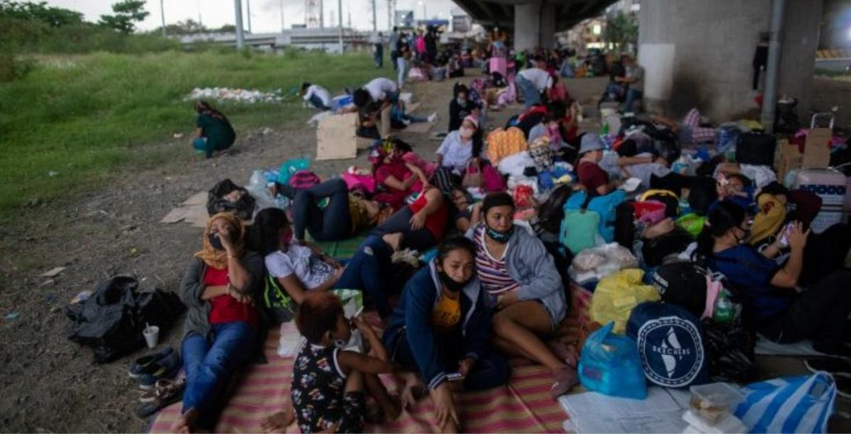 Filipinas. Migrantes. Migrações