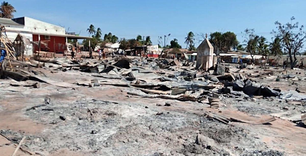 Macomia, Cabo Delgado, Moçambique.