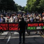 Milhares rezaram em Washington pelo fim do racismo