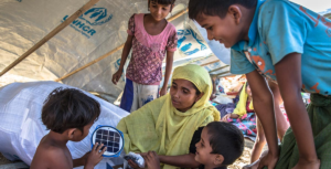 refugiados rohingya, Foto UNHCR_Andrew McConell