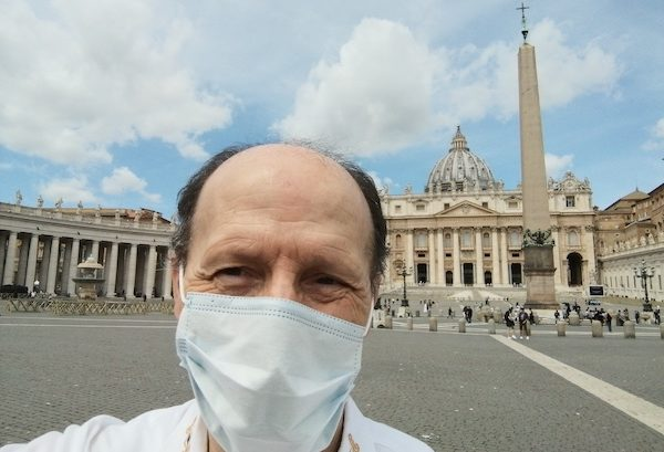 Roma 2020 Pandemia. Papa Francisco
