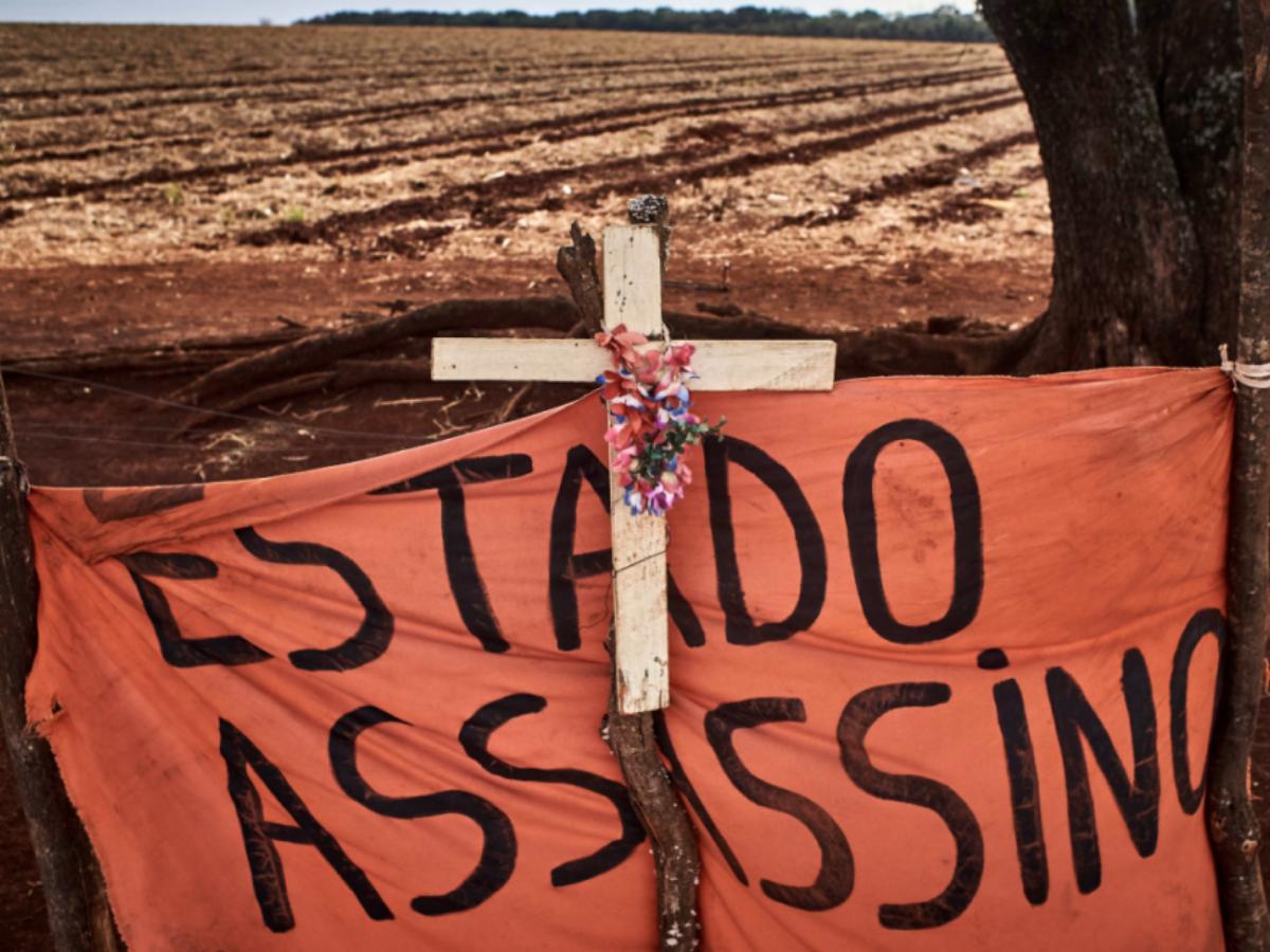 O governo de Bolsonaro é acusado de _condenar à morte_ as populações indígenas. Foto_ APIB.