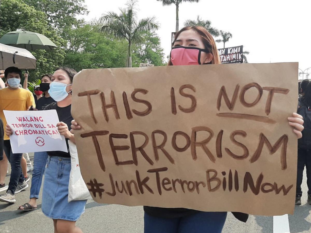 Cópia de Os protestos contra a lei anti-terrorismo têm-se multiplicado nas Filipinas. Foto_ College Editors' Guild of the Philippines