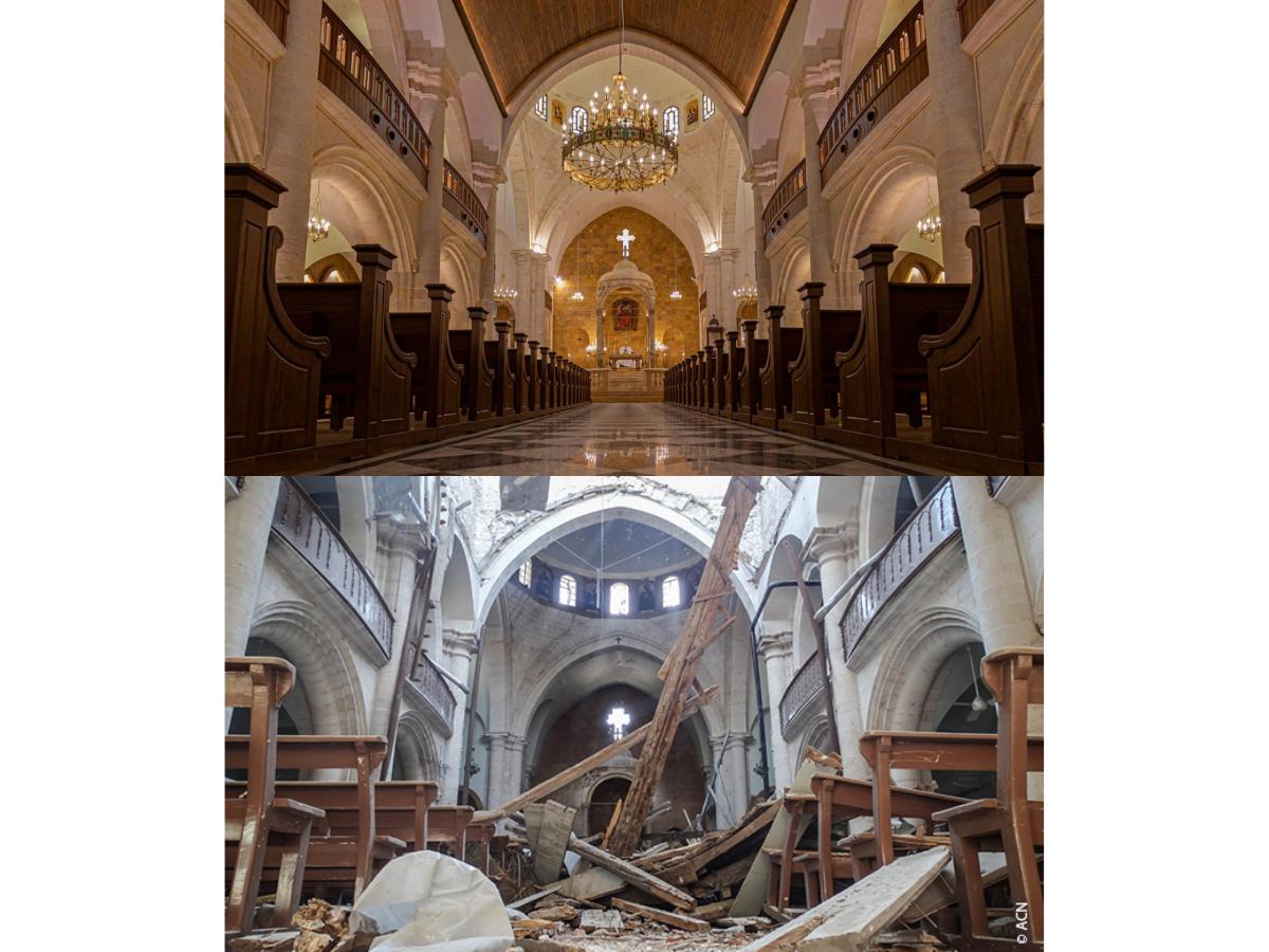 catedral maronita aleppo, Foto ACN
