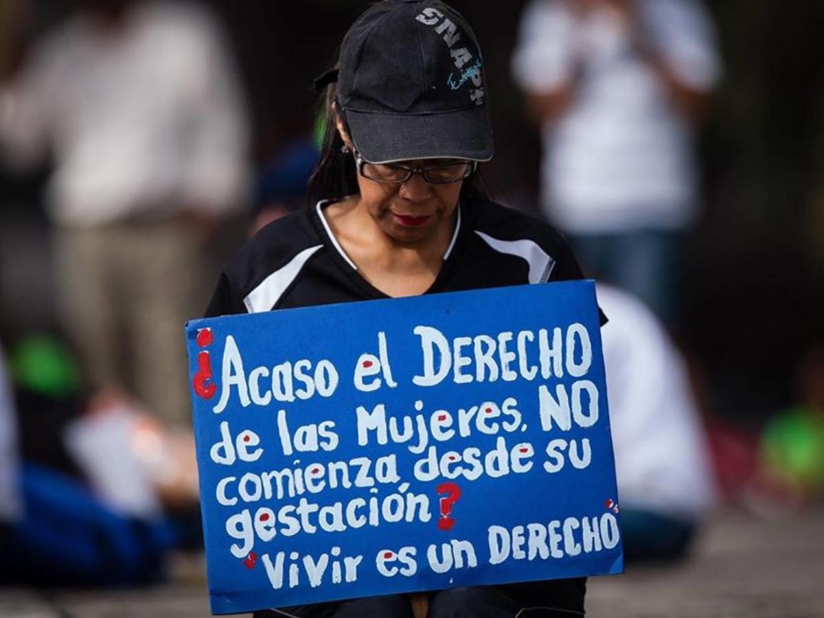 manifestacao contra legalizacao aborto mexico, Foto_ Pasos por la Vida