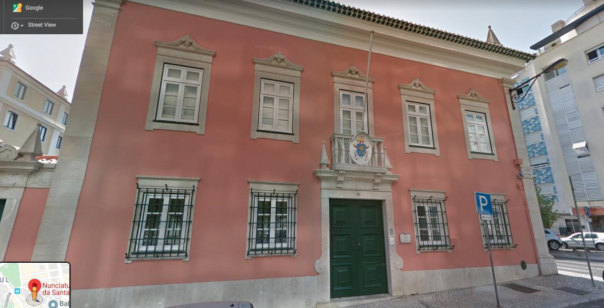 Nunciatura apostólica da Santa Sé em Lisboa
