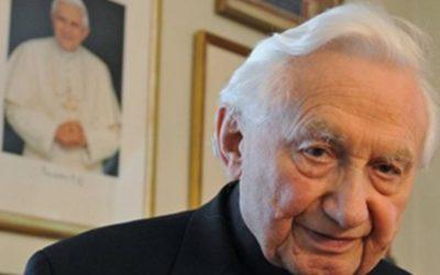 Morreu Georg Ratzinger, irmão de Bento XVI