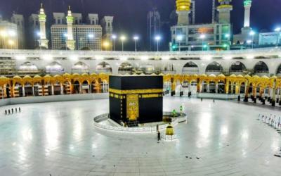 """Peregrinação a Meca limitada a 1000 peregrinos pré-selecionados e em """"bolhas de segurança"""""""