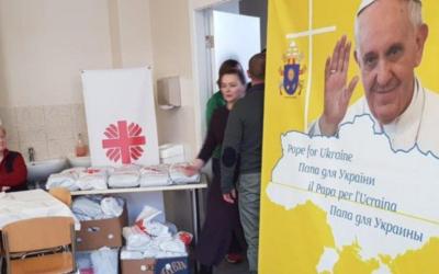 Projeto do Papa na Ucrânia ajudou um milhão de pessoas