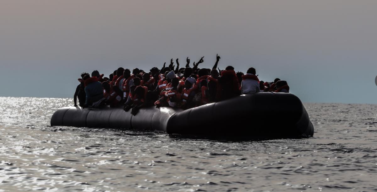 Migrantes. Mediterrâneo. Sea Watch 4