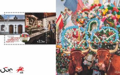 Sopas do Espírito Santo dão a volta ao mundo em novos selos de correio