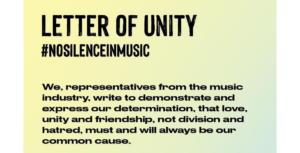 carta aberta musicos britanicos racismo Foto FB Love Record Stores