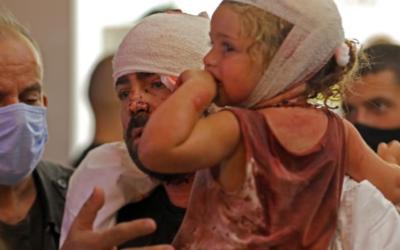 Há 80 mil crianças sem casa em Beirute, Unicef pede ajuda urgente