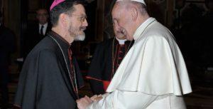 D. Luiz Fernando Lisboa. Pemba. Papa Francisco