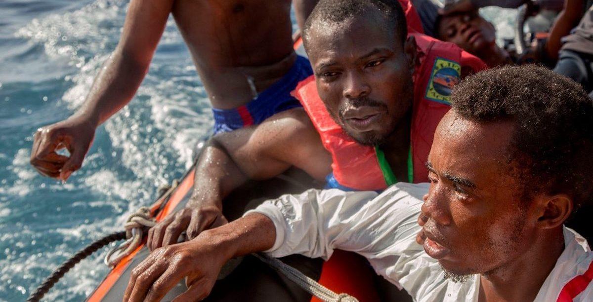 Migrantes. Mediterrâneo