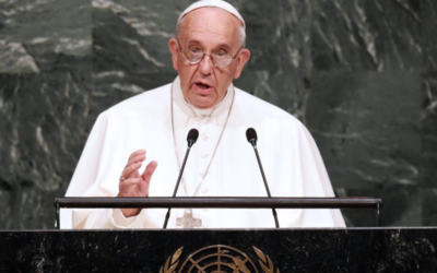Papa discursa na assembleia geral da ONU em setembro
