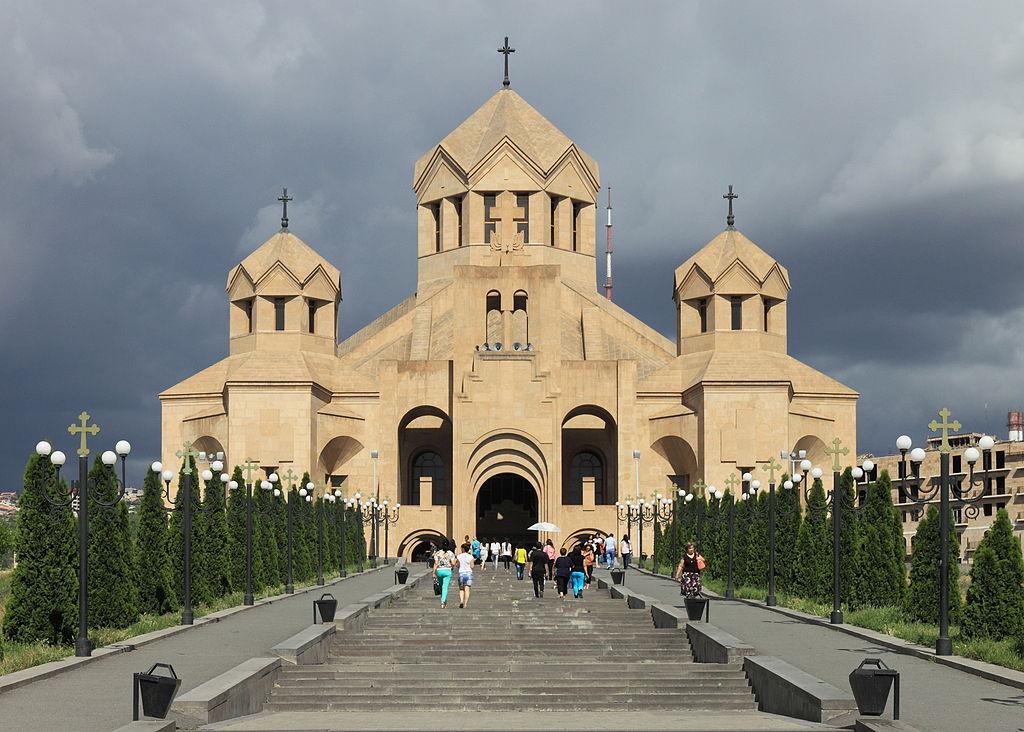 Catedral. Igreja. Erevan. Arménia