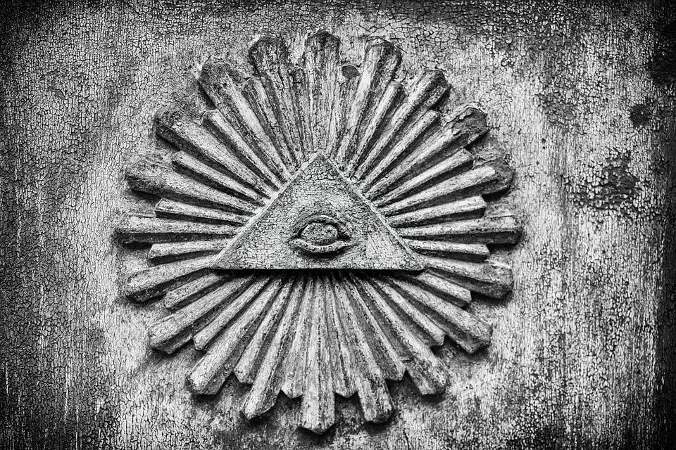 teorias da consipração. maçonaria. símbolos