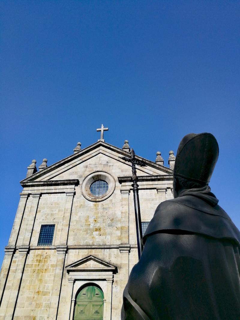 Estátua, Frei Bartolomeu dos Mártires. Braga.
