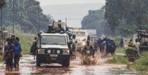 Foto ONUEskinder Debebe Patrulha militar em Bangui, na República Centro-Africana
