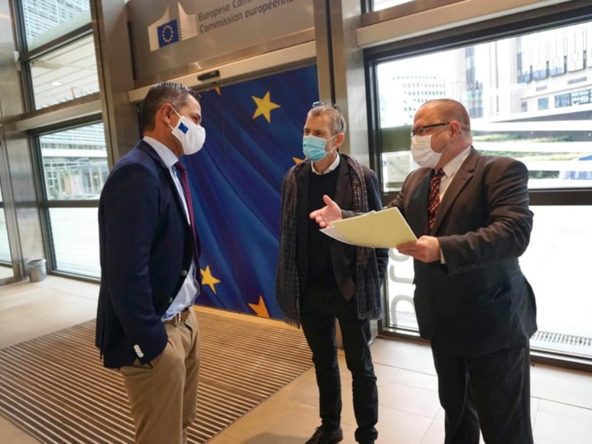 representantes CEC e CCME na comissao europeia, Foto CMI