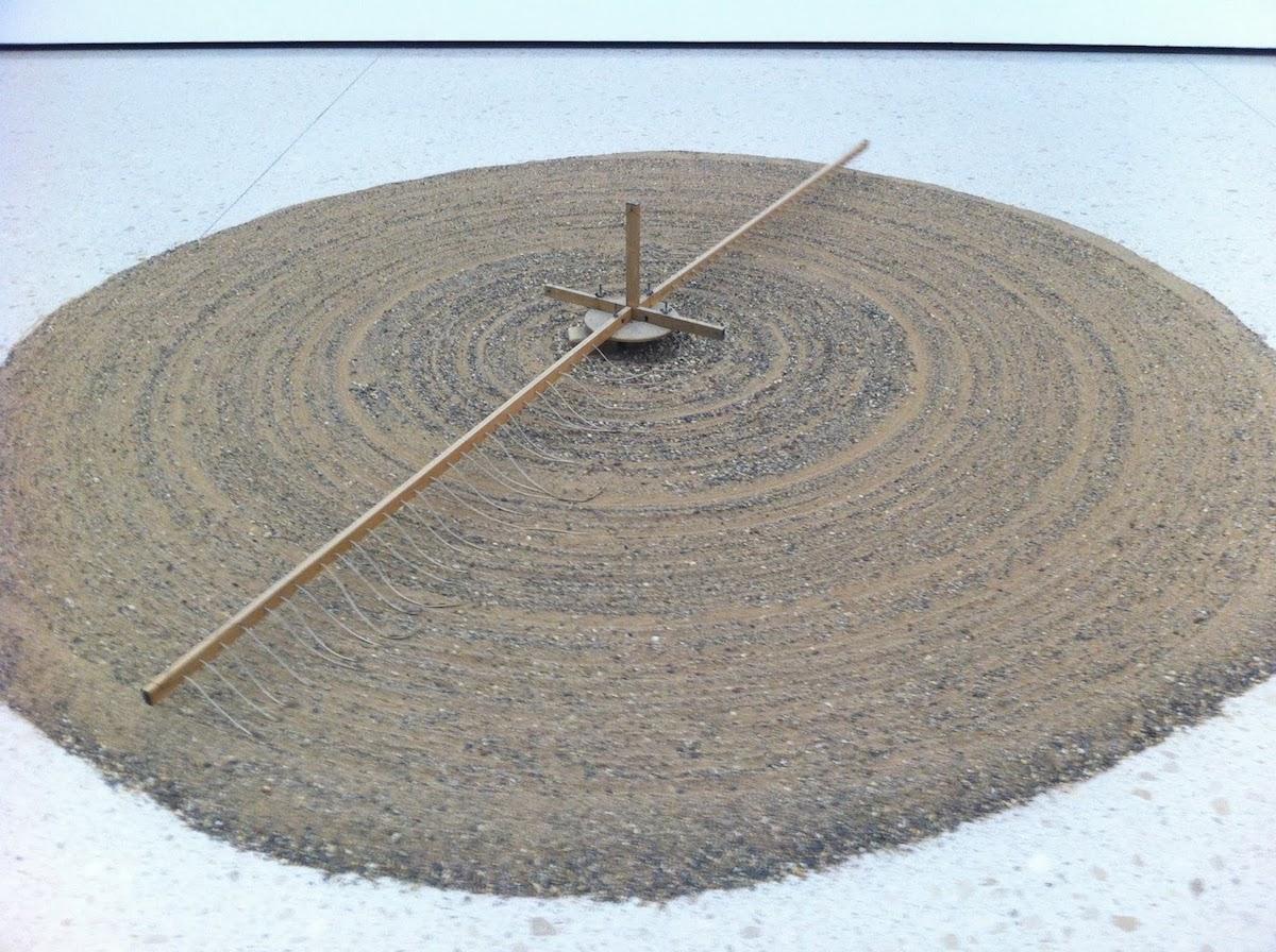 Moinho de areia. Tempo.
