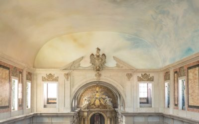 Prémio Vilalva da Gulbenkian para o restauro e o céu da igreja de Santa Isabel