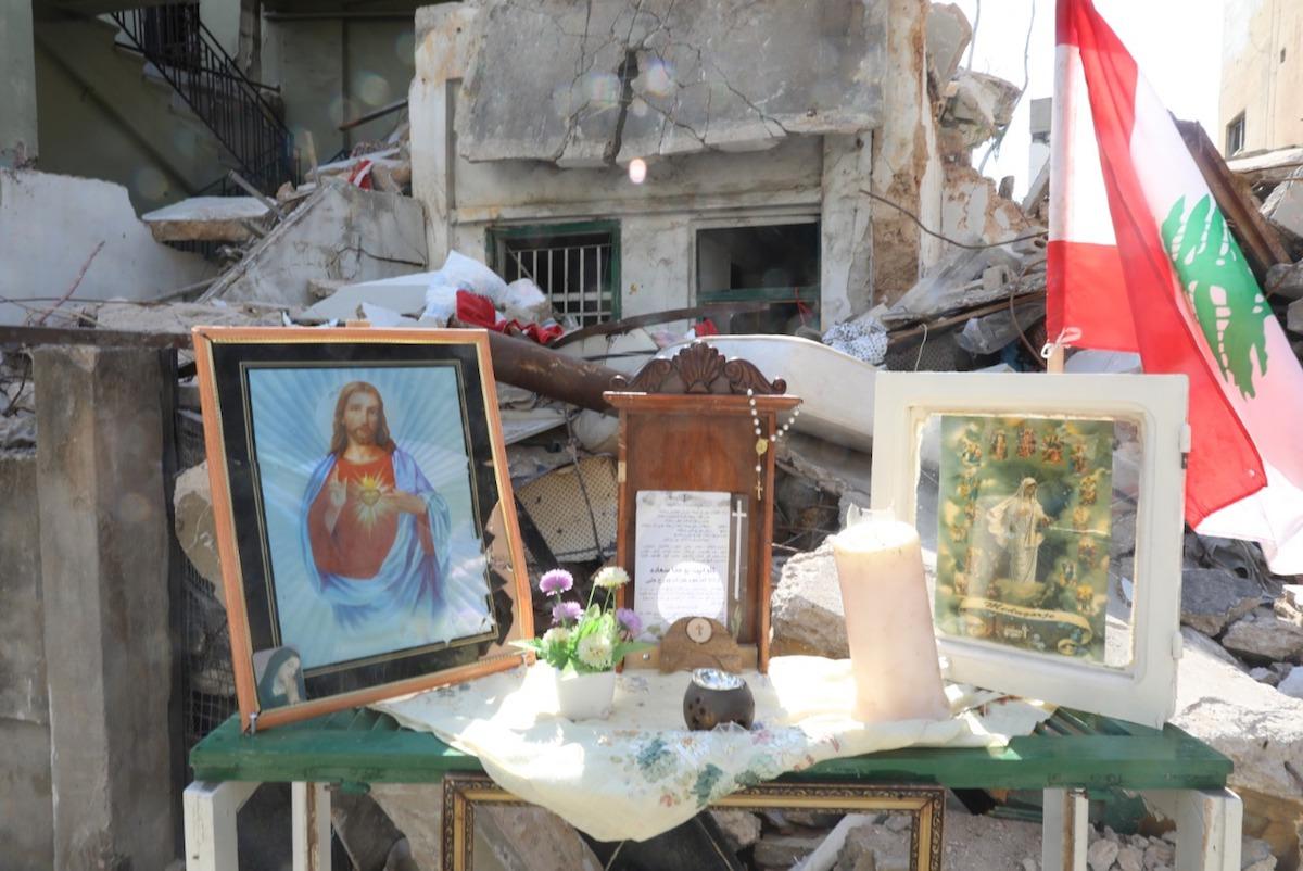 Líbano. Destruição. Beirute