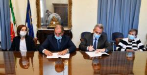 assinatura acordo comunidade sant'egidio refugiados, Foto: Comunidade Sant'Egidio