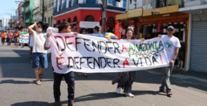 manifestacao amazonia, Foto Forum Social Pan-amazonico