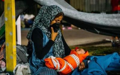 """Uma """"prisão a céu aberto"""", denunciam organizações humanitárias sobre novo campo de refugiados em Lesbos"""