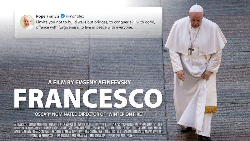 cartaz do filme Francesco, de