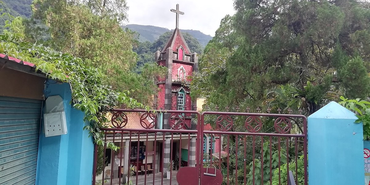 Igreja de Cristo Redentor. Taiwan. Catolicismo. China