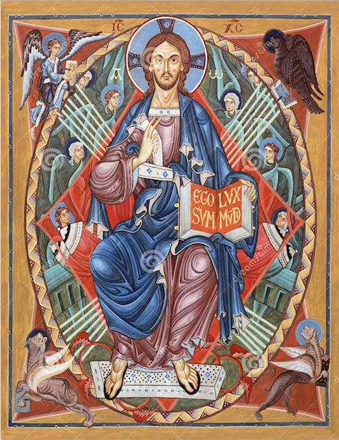Cristo. Quatro evangelhos. Quatro evangelistas. Ícone., Bolonha, Arte