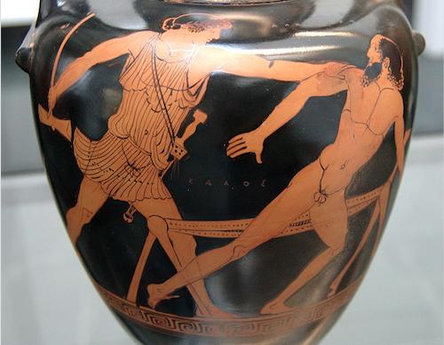 Teseu e Procustes. Grécia. Mito