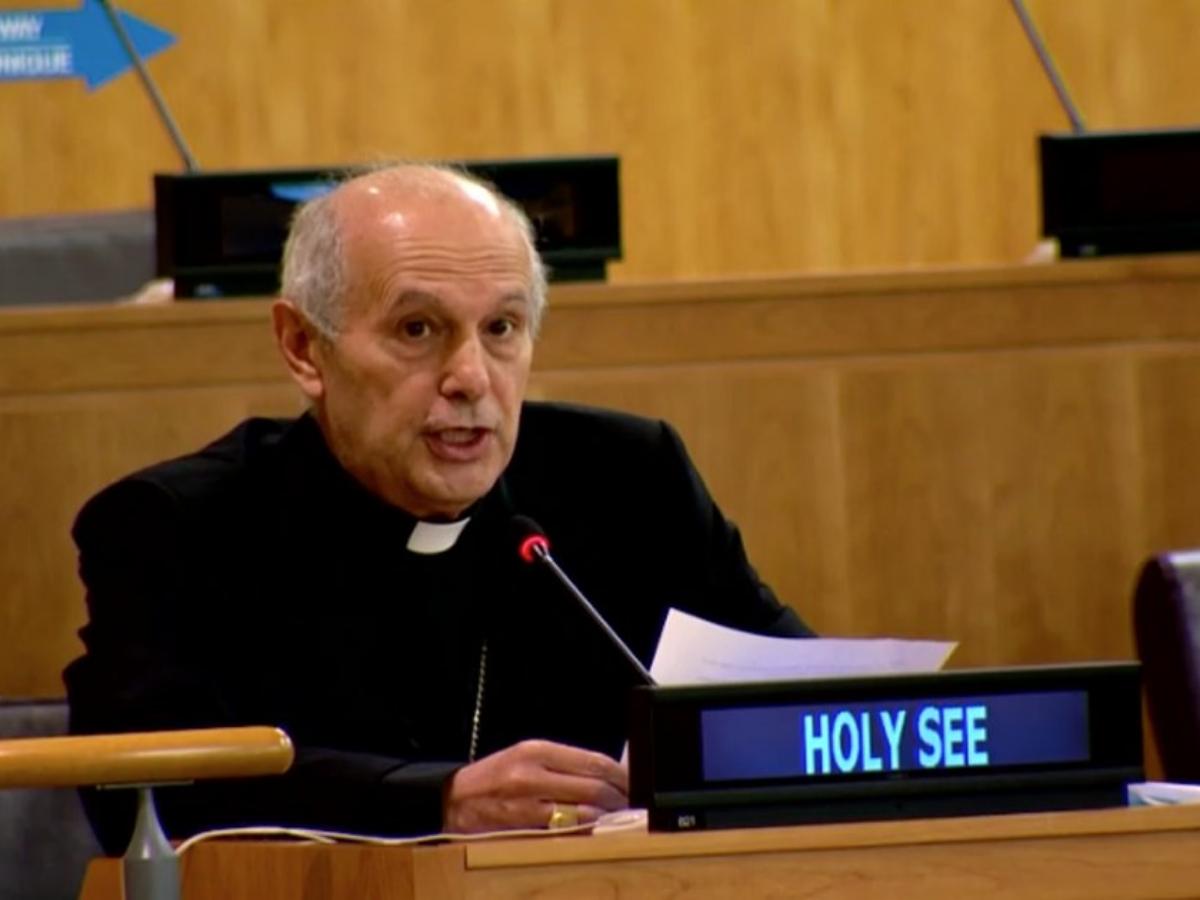 Gabriele Caccia, Foto Holy See Mission UN