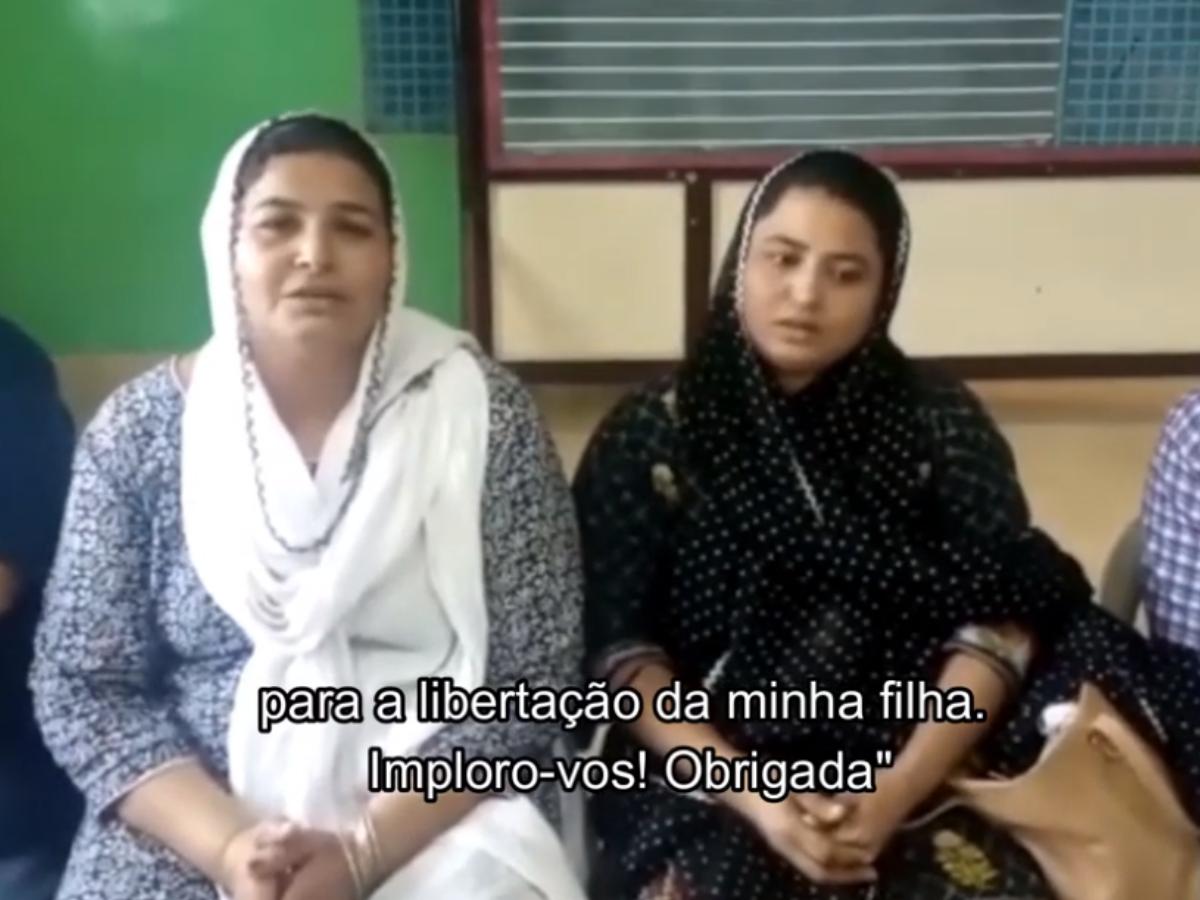 huma younus rapto paquistao, video AIS