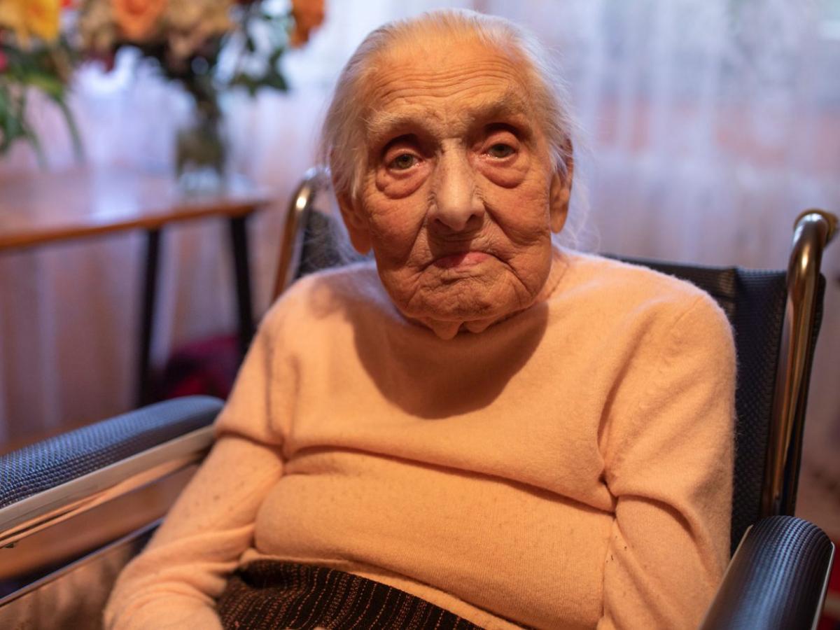 sobrevivente holocausto, Foto Claims Conference