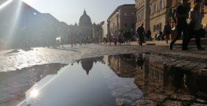 Roma. Vaticano. Praça de São Pedro